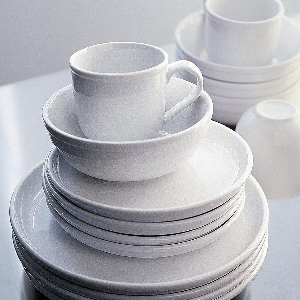Dinnerware set from Crate & Barrel