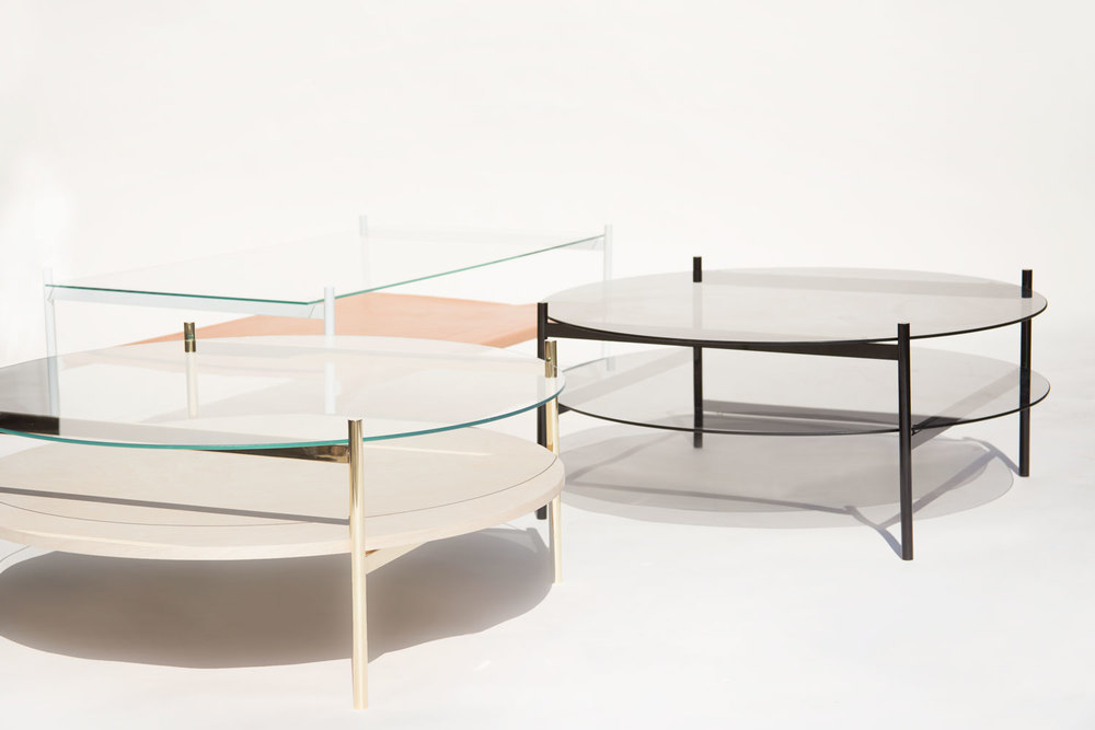 Duotone coffee table selections from Yield