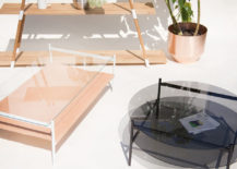 Duotone coffee tables from Yield