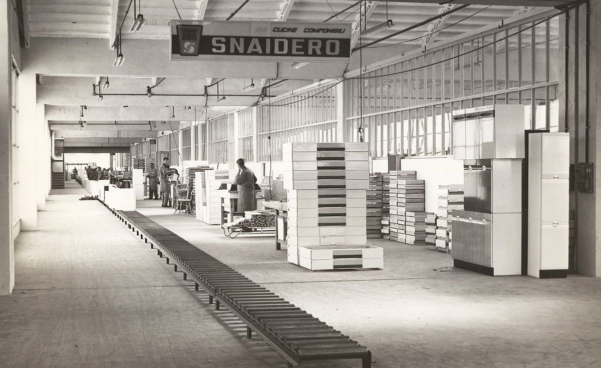 Early years of Snaidero taking shape in late 50s