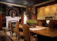 Fabulous Asian style dining room delves into the extravagant 217x155 Serene and Practical: 40 Asian Style Dining Rooms