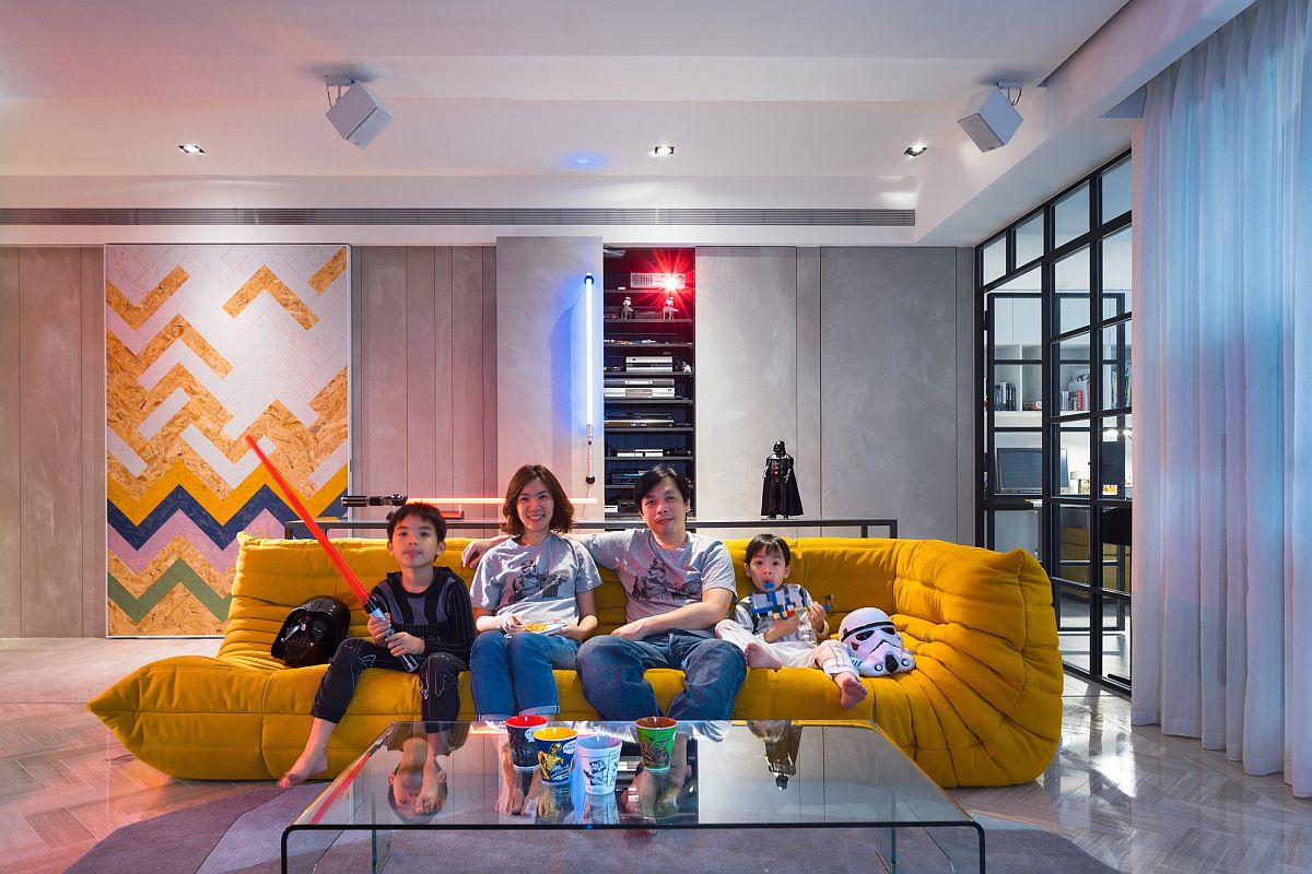 Family home in Taipei inspired by the Star Wars universe Sensational Star Wars Home Transports You to a Different Dimension!