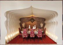 Fascinating, custom dining room creates a Mediterranean haven indoors