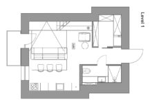 Floor-plan-of-small-apartment-with-a-loft-bedroom-level-217x155