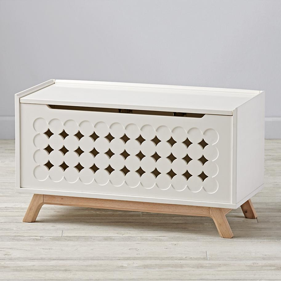 Geometric toy box from The Land of Nod