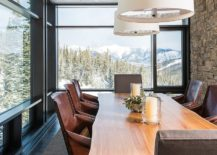 Glass-and-stone-walls-coupled-with-live-edge-dining-table-offer-ample-textural-contrast-217x155