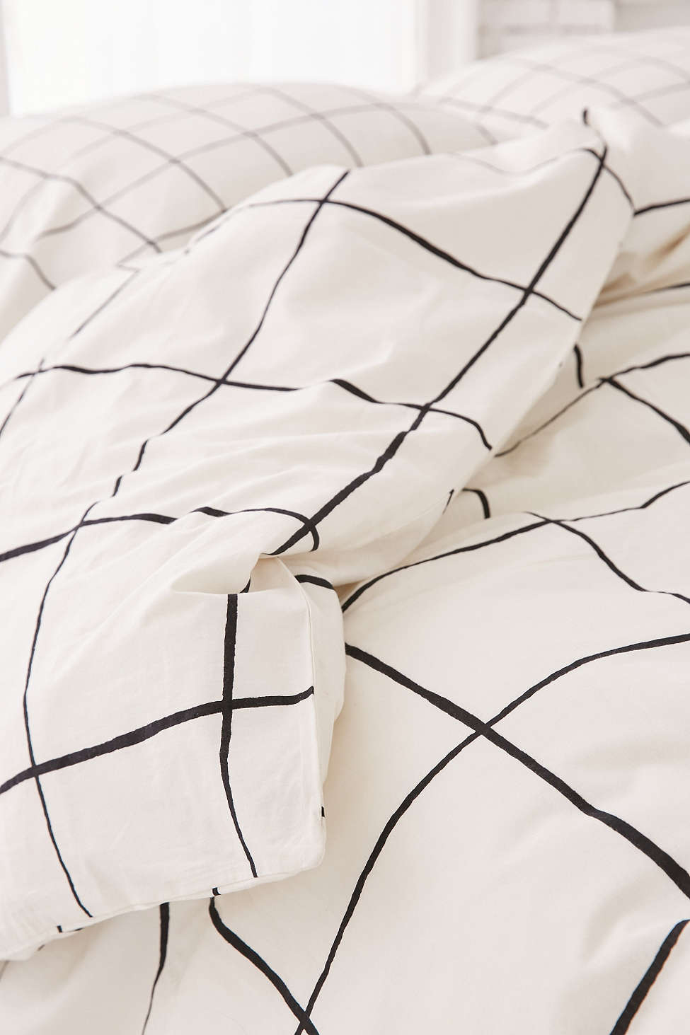 Grid duvet cover from Urban Outfitters