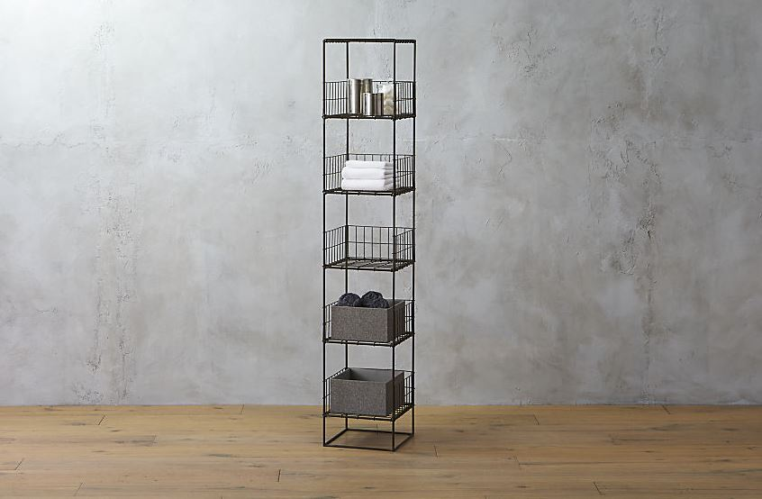Grid shelving from CB2