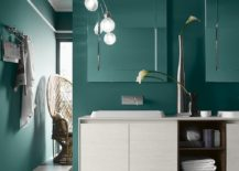 Handleless vanity units and cabinets of the Perfetto+ collection