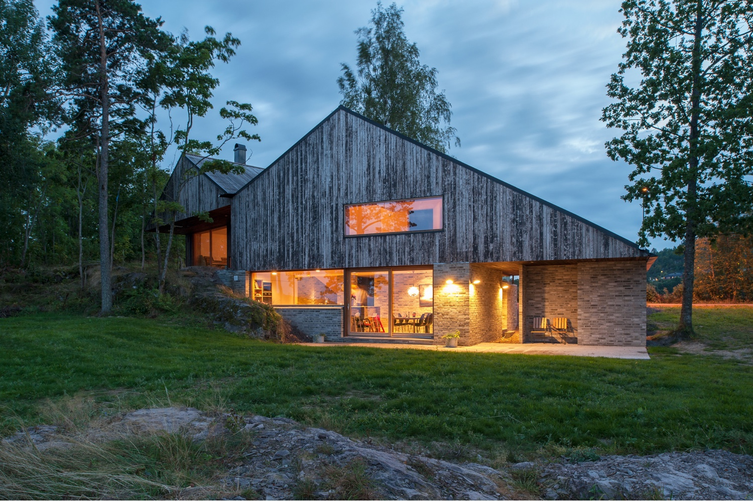 House Off/Ramberg in Holmestrand, Norway, designed by Schjelderup Trondahl Architects AS.