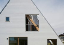 House by Suppose Design Office - gable view