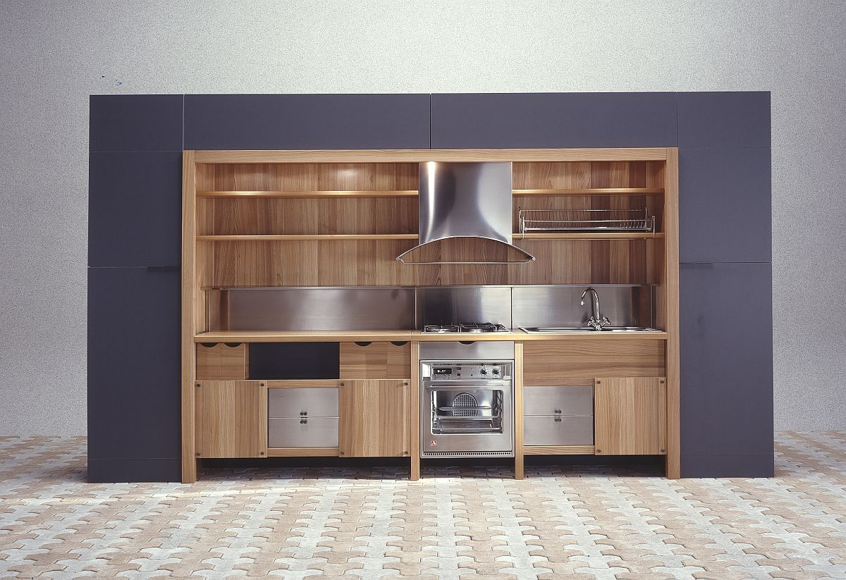70 years of snaidero a global icon of italian kitchen design for Italian kitchen cabinets