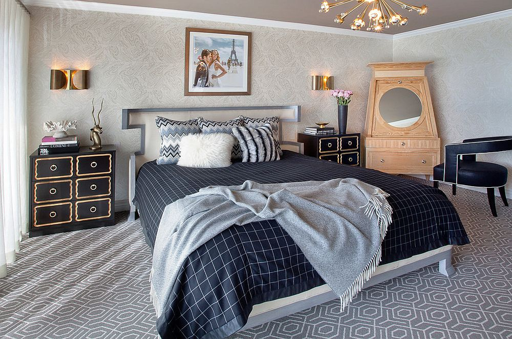 Nightstands And Bedside Tables That Add Golden Glint To The Bedroom - Large bedside table