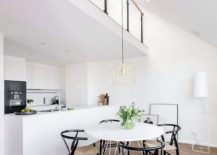 Kitchen-and-dining-area-in-black-and-white-217x155