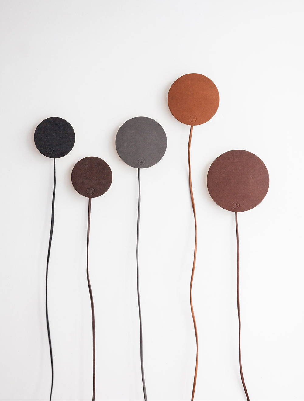 Lamps by Norm.Architects. Leather: Elegance, Dunes and Sense.