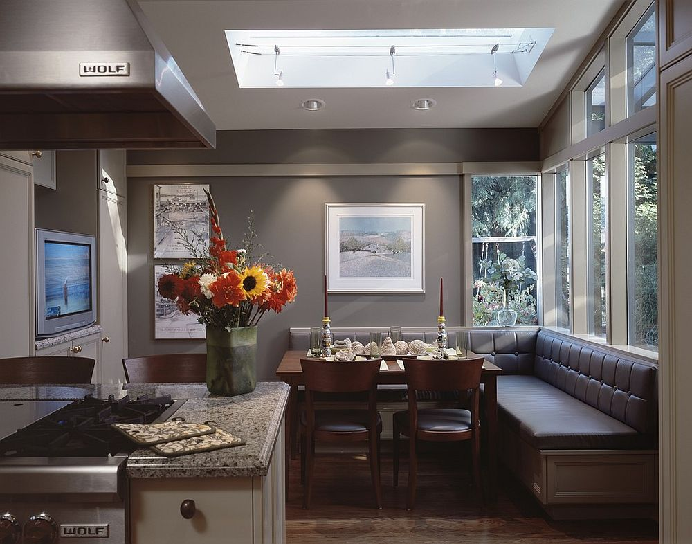 25 space savvy banquettes with built in storage underneath - Banquettes in kitchens ...