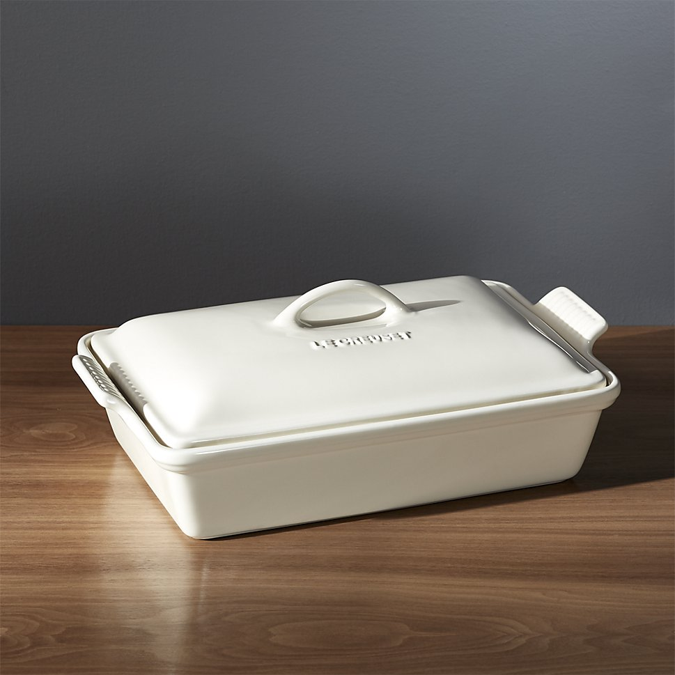 Le Creuset baking dish from Crate & Barrel