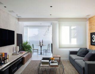 Refined and Refreshing: Small Contemporary Apartment in Rio de Janeiro