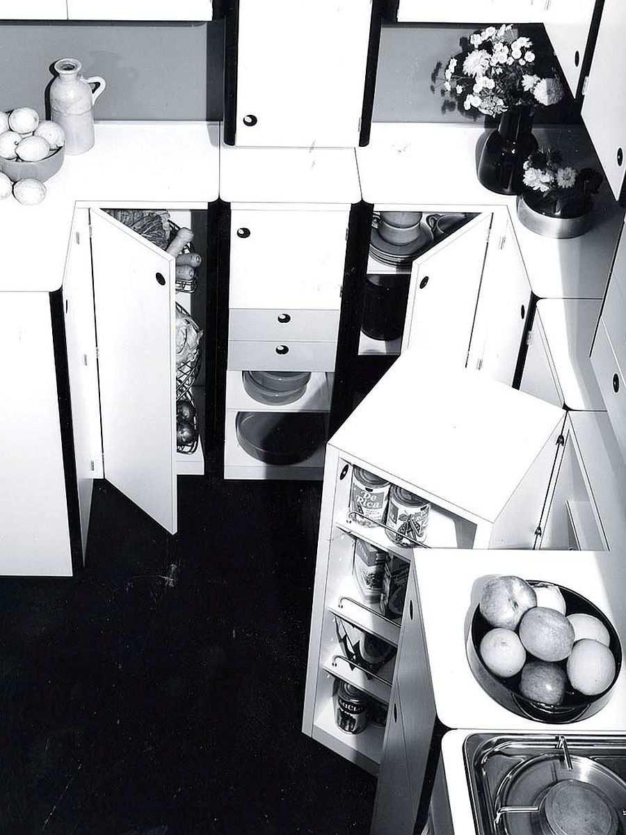 Living Space kitchen created for Snaidero in 1968 by the great architect and designer Virgilio Forchiassin