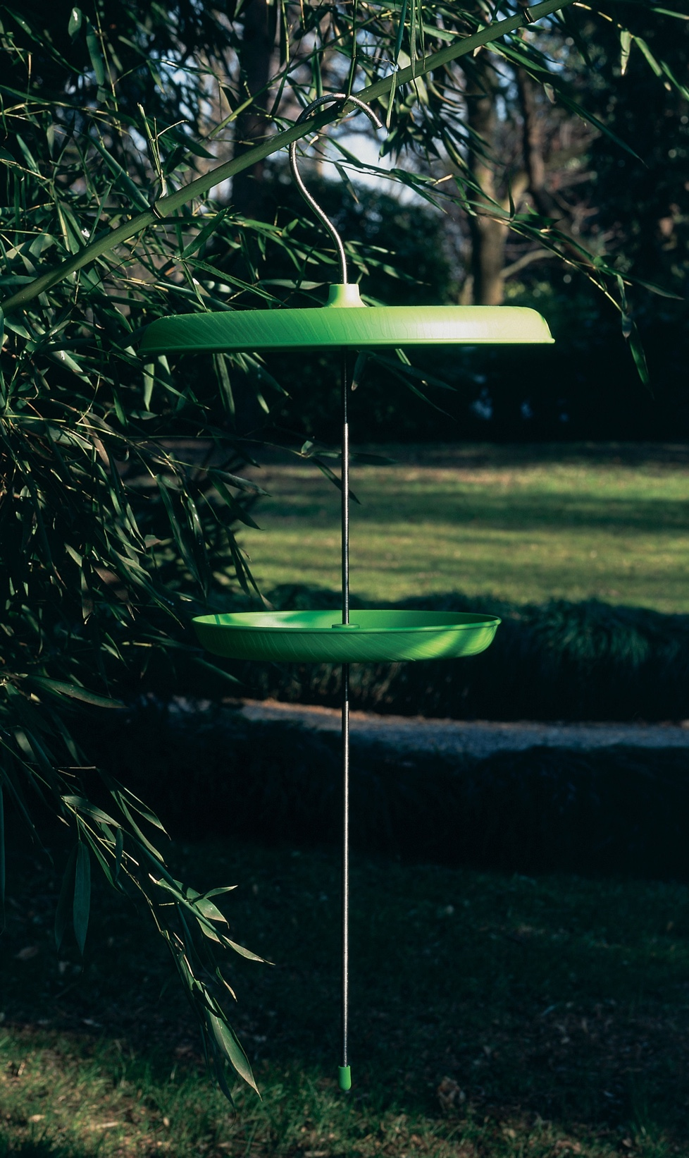 Bird table by  Jasper Morrison for Magis. Image via Made in design.