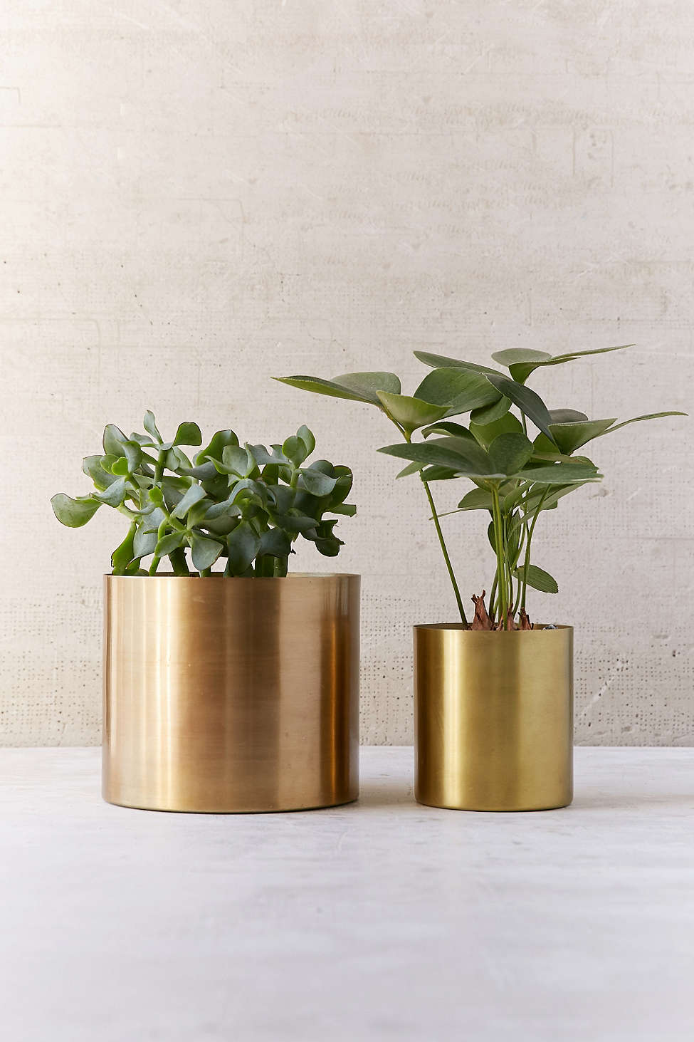 Metal planters from Urban Outfitters