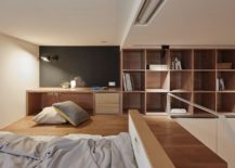 Mezzanine-level-bedroom-and-workdesk-of-the-tint-Taipei-apartment-217x155