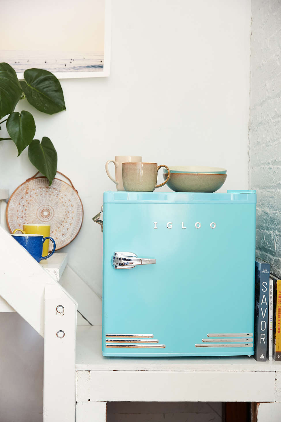 Mini fridge from Urban Outfitters