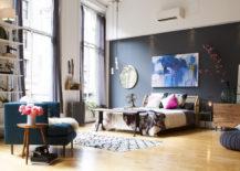 Modern-eclectic-bedroom-with-floor-to-ceiling-windows-217x155