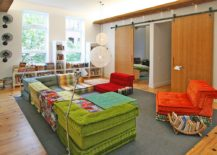 Moooi-Random-Lights-enliven-the-colorful-playroom-with-sliding-barn-doors-217x155