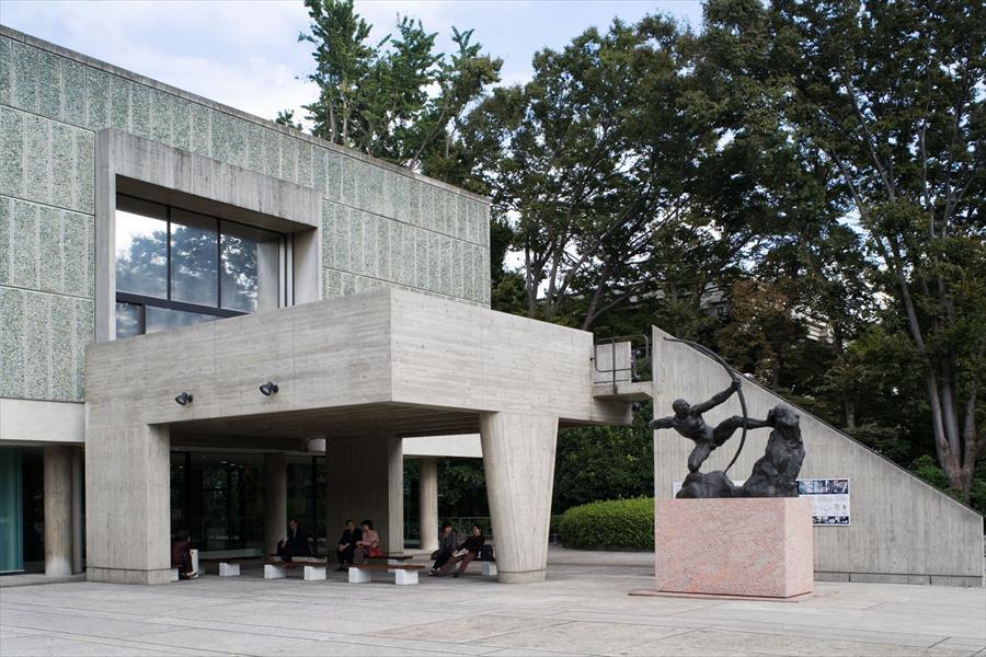 Musée National d'Art Occidental entrance.Photo byOliver Martin-Gambier©FLC/ADAGP.