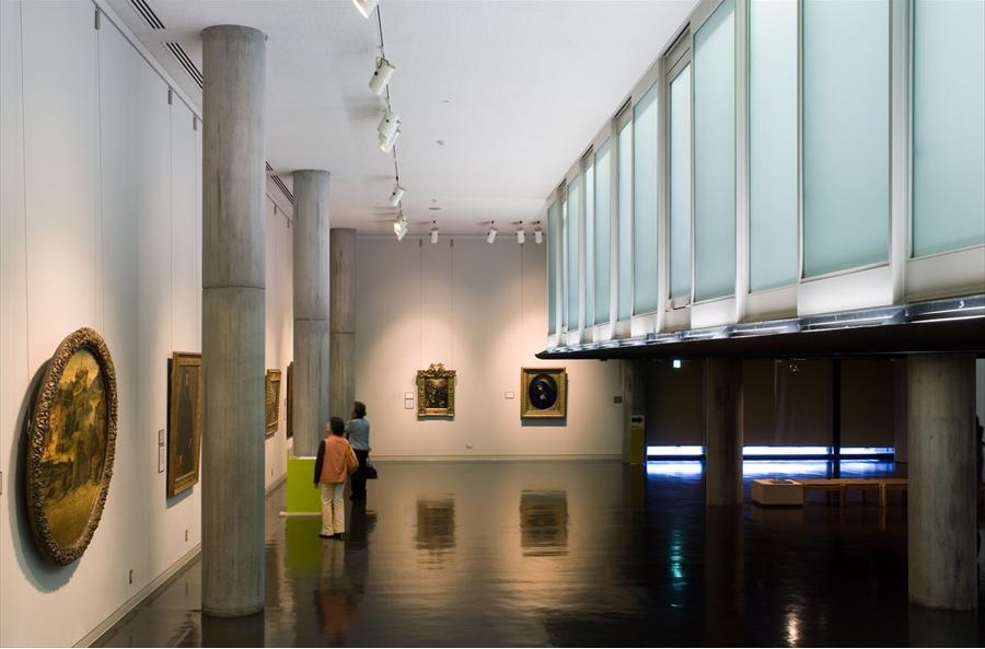 Musée National d'Art Occidental interior. Photo by Oliver Martin-Gambier © FLC/ADAGP.