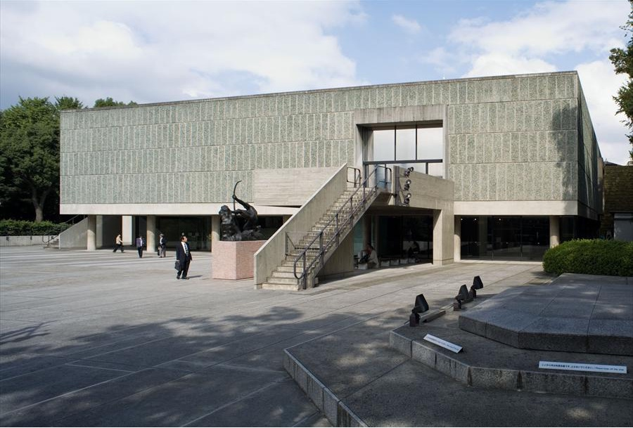 Musée National des Beaux-Arts de l'Occident, Taito-Ku, Tokyo, Japan, 1955. Photo by Oliver Martin-Gambier © FLC/ADAGP.