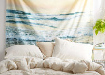 Ocean tapestry from Urban Outfitters