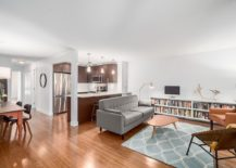 Open plan living of the beautiful Vancouver apartment up for grabs!
