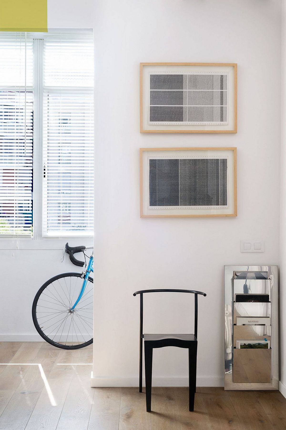 Original framed prints add distinct style to the living space