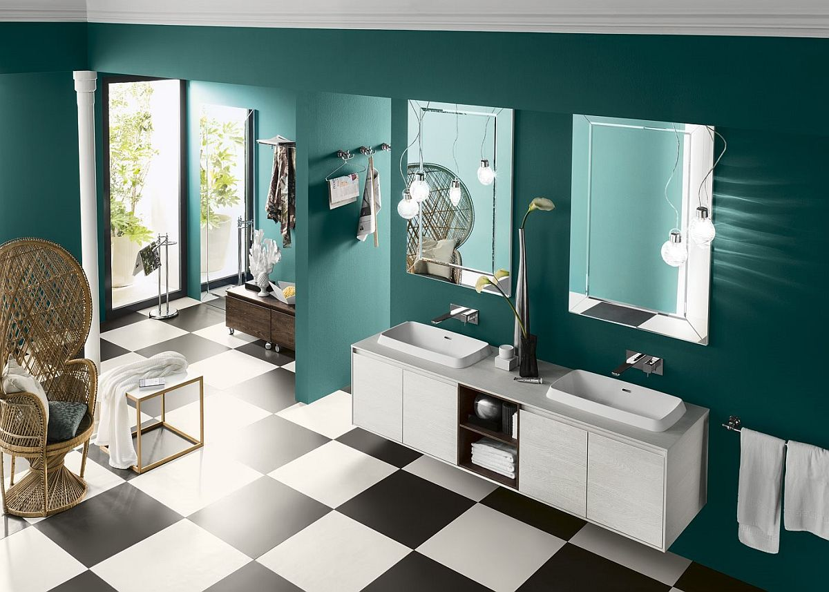 Perfetto Modular Bathroom Collection from Inda Perfetto Plus: Bathroom Vanities and Cabinets That Usher in Adaptable Ease