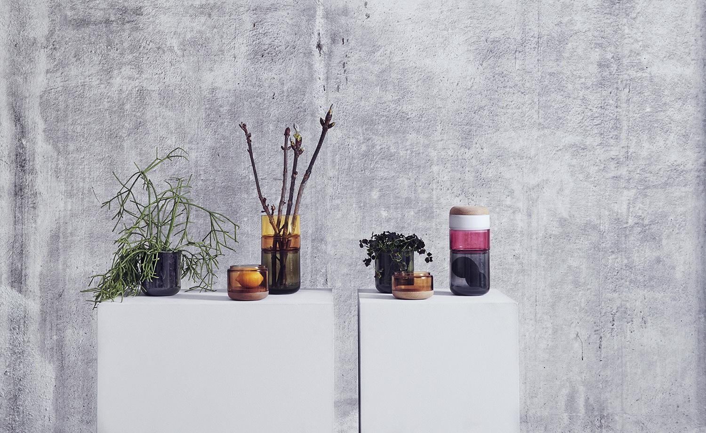 Pi-No-Pi-No Vase designed byMaija Puoskari&Tuukka Tujula. Take it apart orstack it together: the Pi-No-Pi-N vase is flexible and versatile.