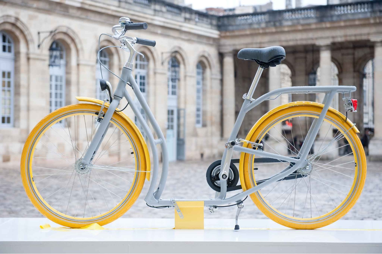 Pibal bicycle. Image ©20 MINUTES.