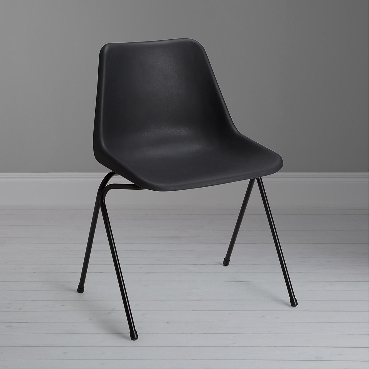 Polyside Chair in dark grey. Image© John Lewis Partnership.