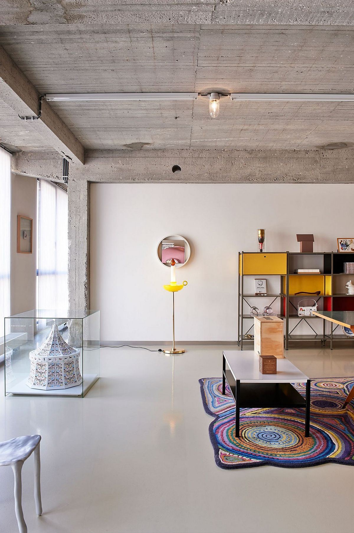 This eclectic loft in belgium is filled with color and for Home decor quirky