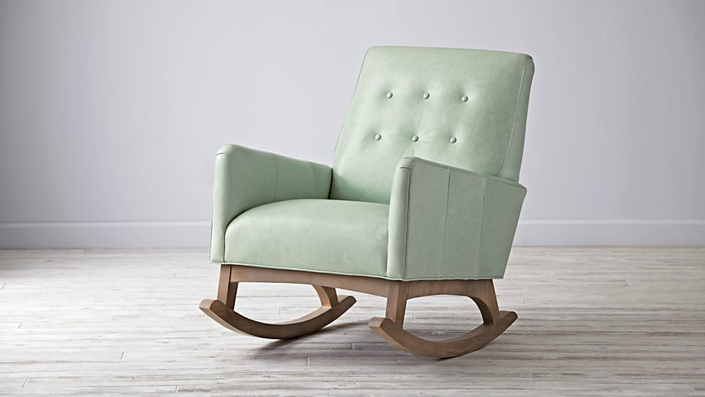 Retro-modern rocking chair from The Land of Nod