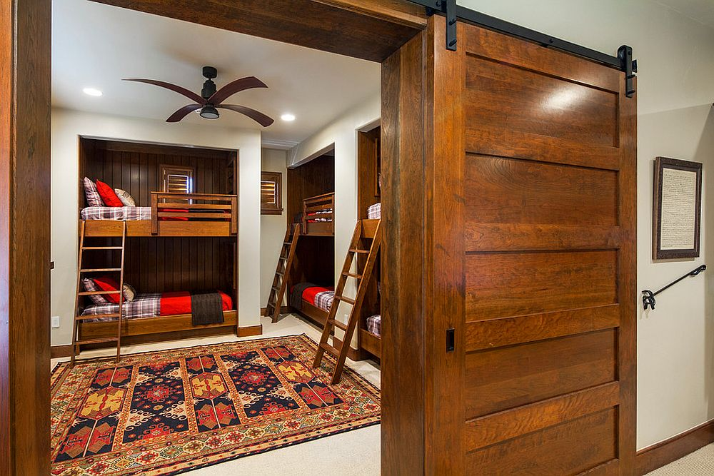 Kids Bedroom Door 27 creative kids' rooms with space-savvy sliding barn doors