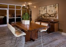 Putting Together A Dining Room With A Live Edge Table Is Much More About  The Rest Of The Room Than The Table Itself. A Top Quality Natural Edge Table  With A ...