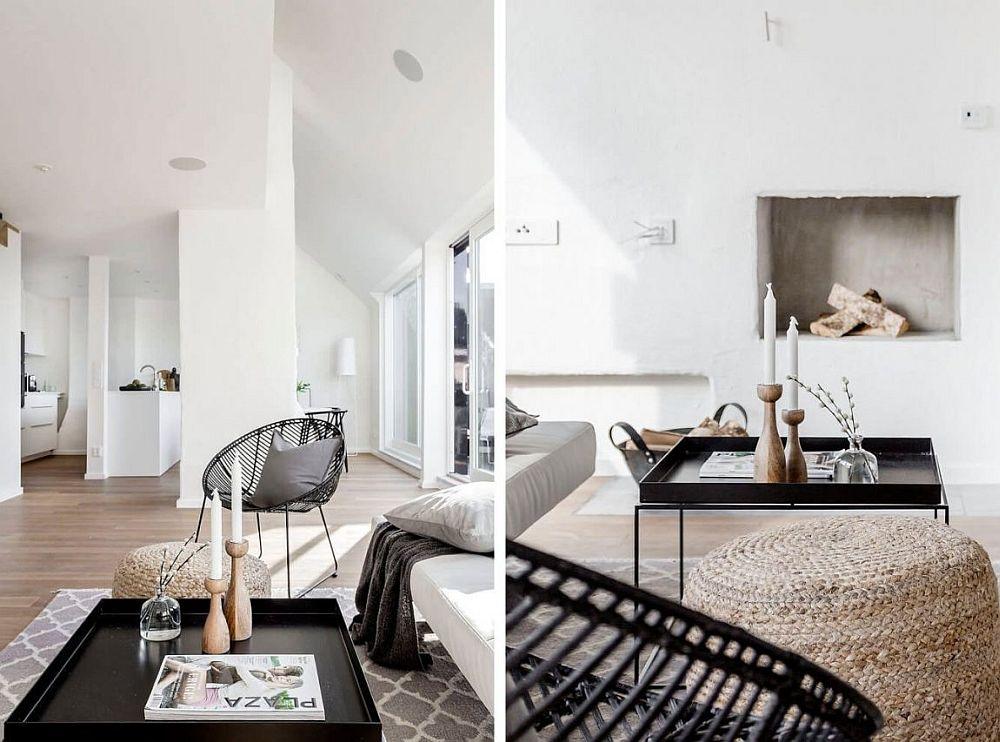 Scandinavian living room decor idea
