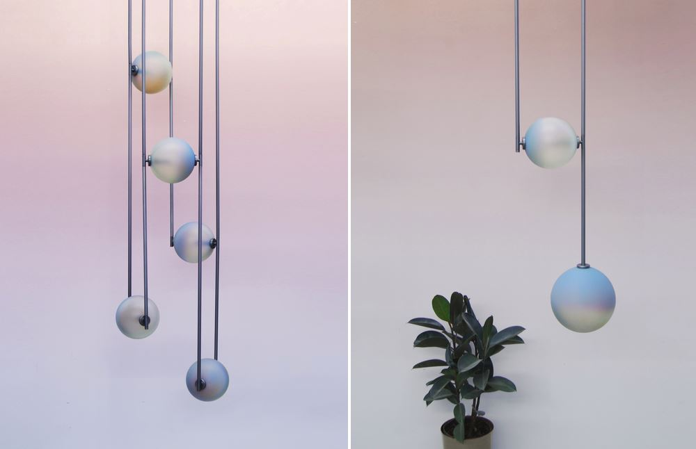 Sculptural lighting from Ladies & Gentlemen Studio