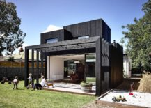 Series of simple structures give the old Victorian home a stylish makeover