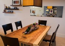 Small live edge redwood dining table [From: Kimball Starr Interior Design]