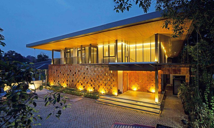 Striking Terracotta Façade Welcomes You at the Energy-Efficient Akanaka