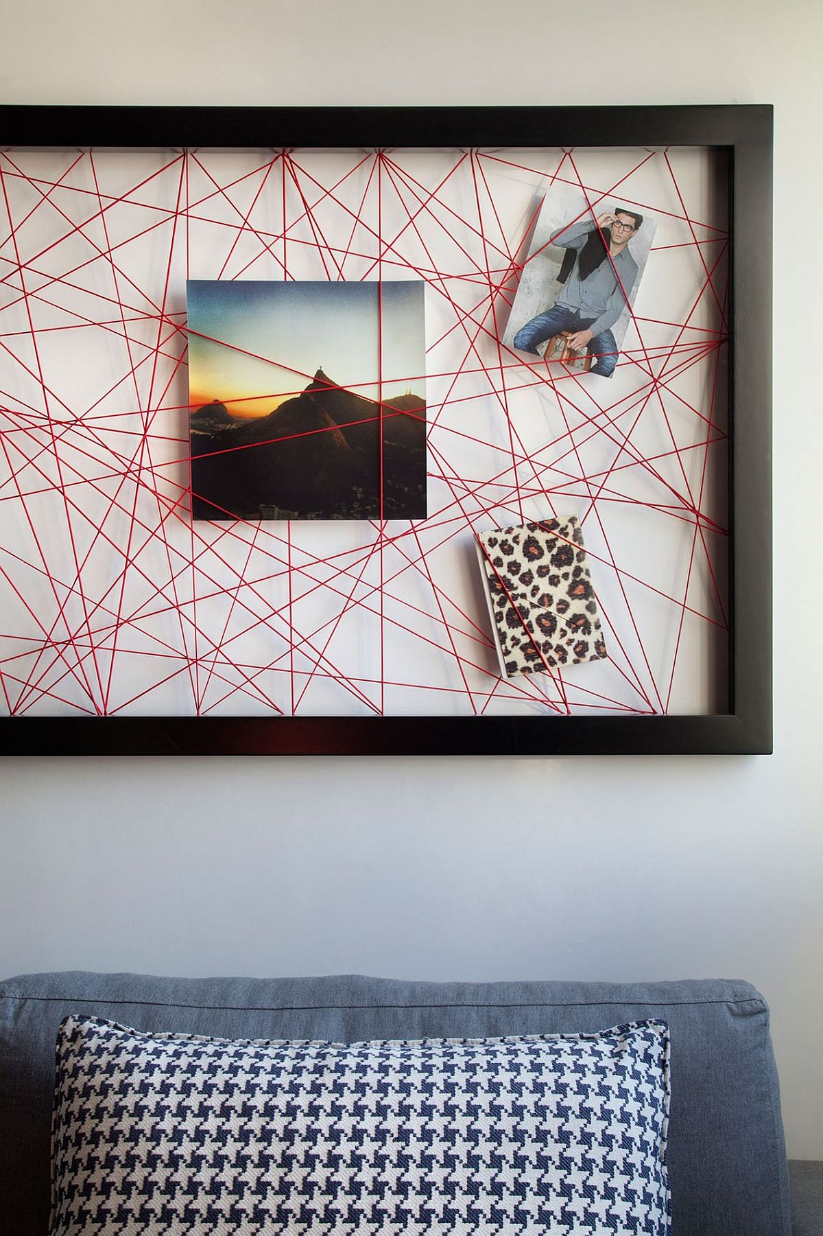 String wall art that makes a striking addition in any home