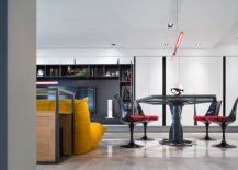 TIE Fighter styled dining table is the showstopper of this Star Wars home